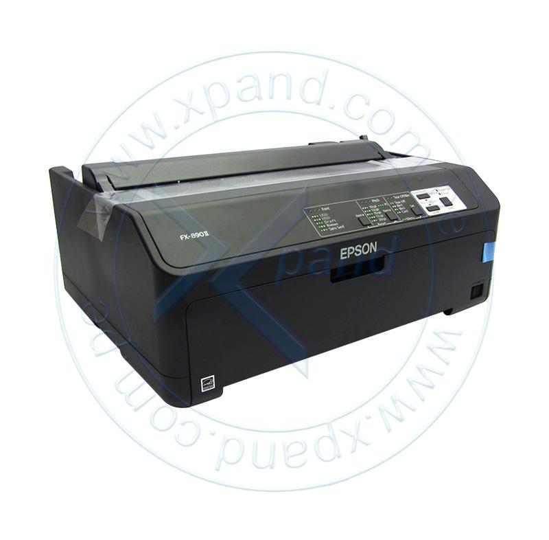 Imagen: Impresora matricial Epson FX-890II, matriz de 9 pines, Paralelo / USB 2.0, 100V - 240VAC.