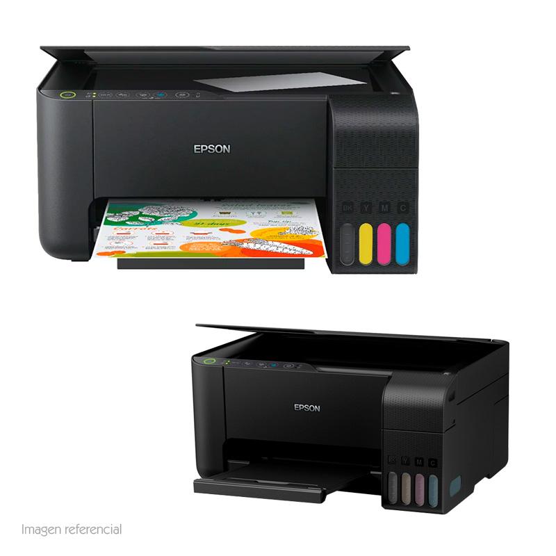 Imagen: Multifuncional de tinta Epson EcoTank L3150, imprime/escanea/copia, Wi-Fi / USB.