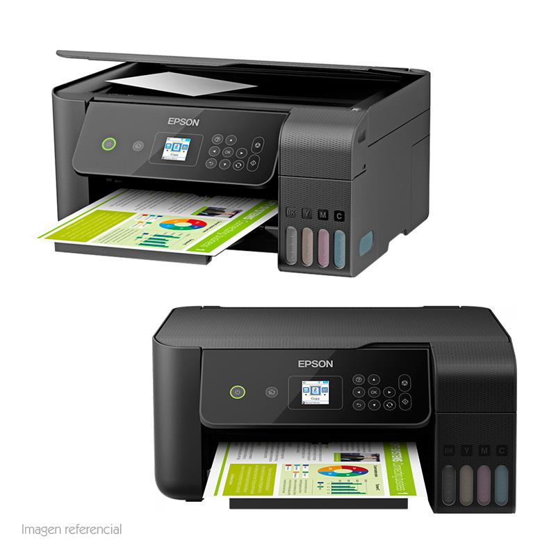 Imagen: Multifuncional de tinta Epson EcoTank L3160, imprime/escanea/copia, USB/WiFi.