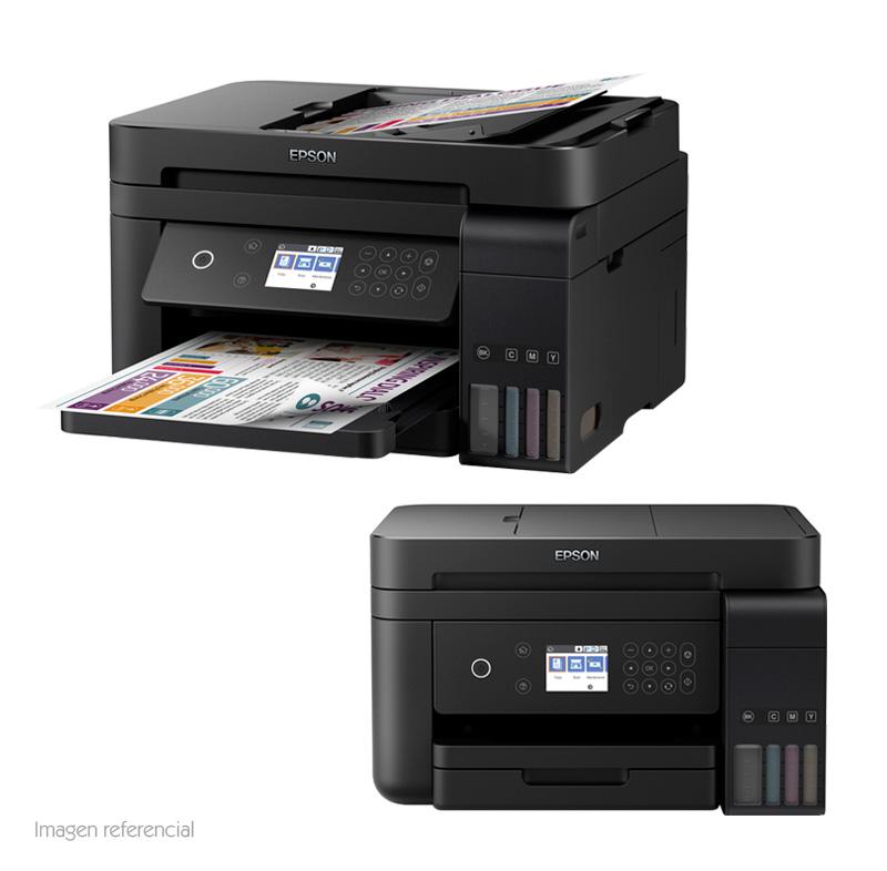 Imagen: Multifuncional de tinta Epson EcoTank L6171, imprime/escanea/copia, Wi-Fi/USB 2.0