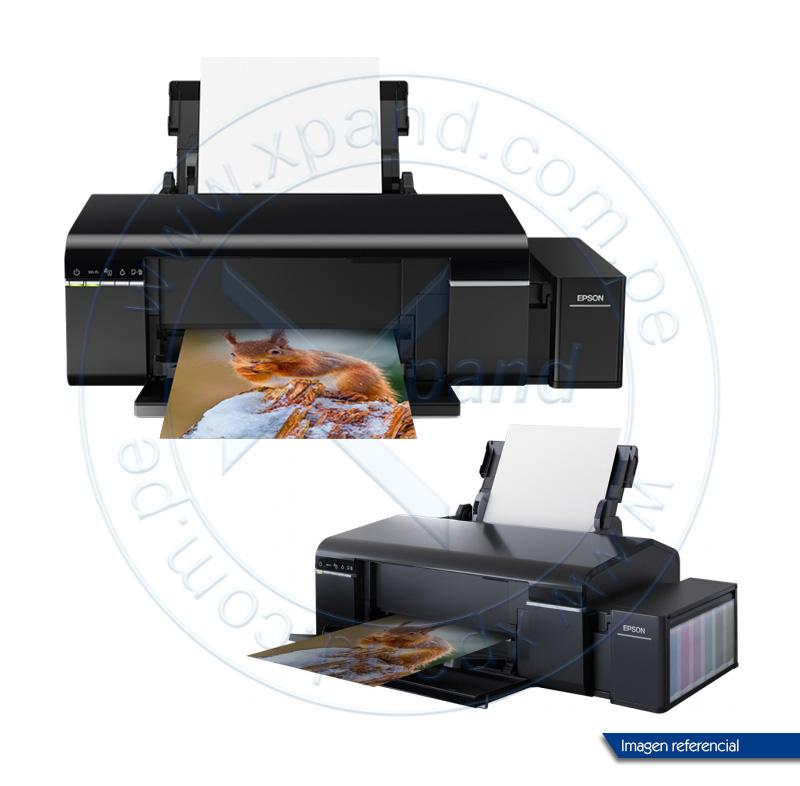 Imagen: Impresora de tinta continua Epson L805, 38ppm / 37ppm, 5760x1440 dpi, USB 2.0/ WiFi.