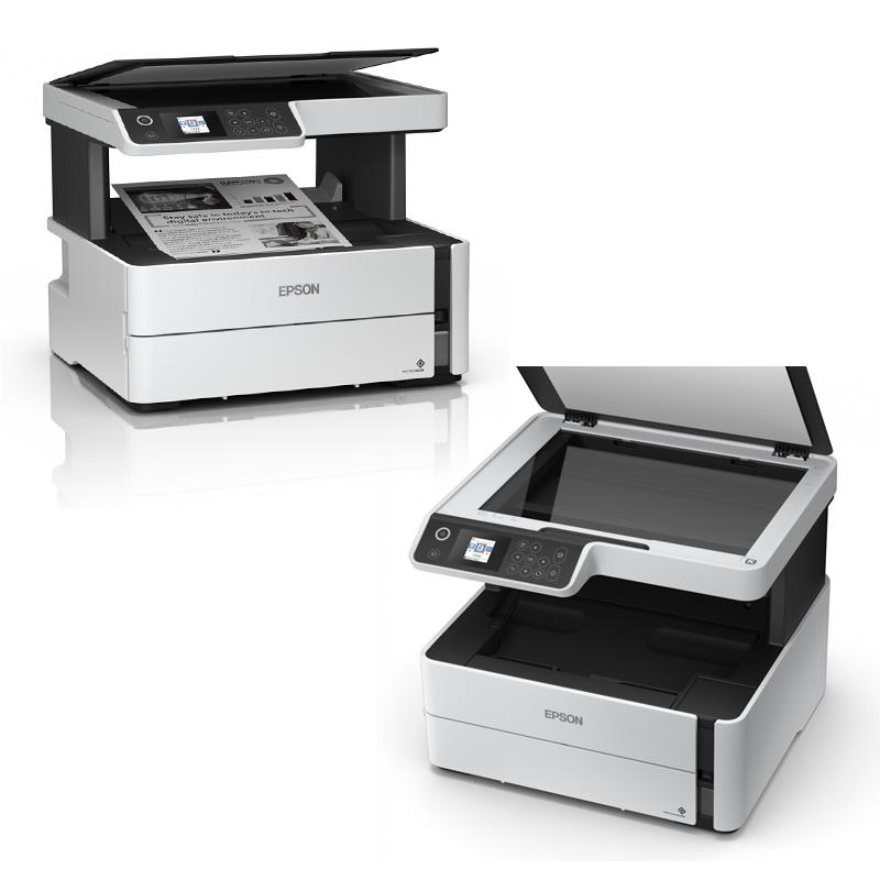 Imagen: Multifuncional de tinta Epson EcoTank ET-M2170, imprime/escanea/copia, USB/LAN/WiFi.