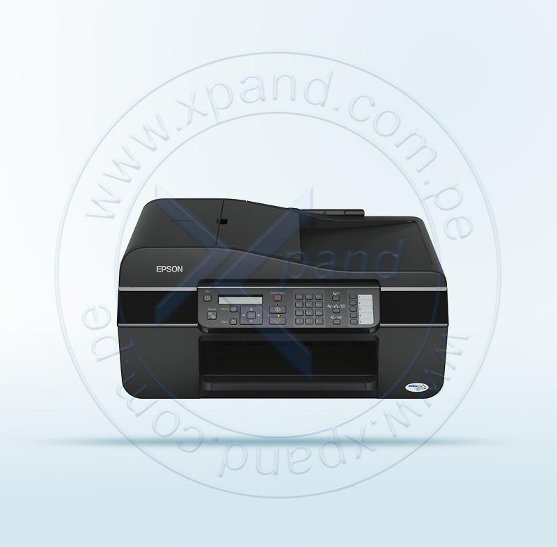 Imagen: Multifuncional de tinta Espon Stylus Office TX525FW, imprime/escanea/copia/fax.
