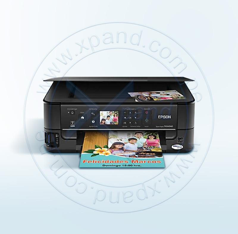 Imagen: Multifuncional de tinta Epson Stylus TX560WD, imprime/escanea/copia, WiFi/Lan/USB 2.0.