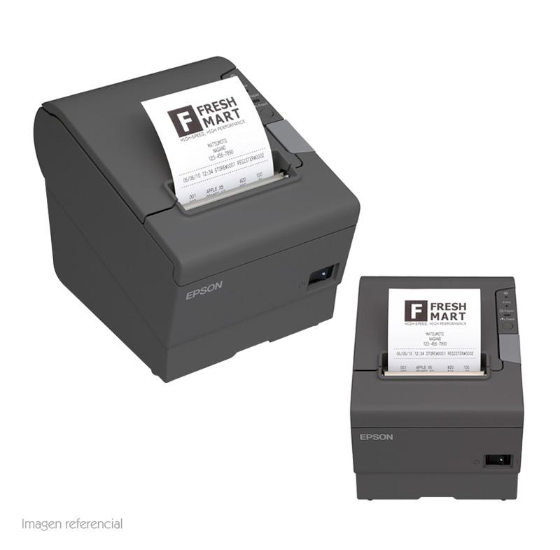 Imagen: Impresora Térmica Epson TM-T88V, Monocromática, 300 mm/s, USB, Ethernet 10/100.