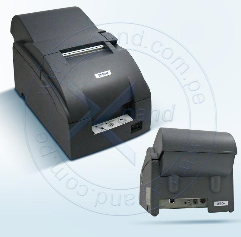 Imagen: Impresora Epson TM-U220A, matriz de 9 pines, velocidad de impresión 4.7 - 6.0 lps.