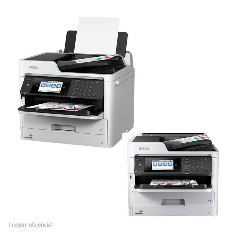 Imagen: Multifuncional de tinta Epson WorkForce Pro WF-C5710, imprime/escanea/copia/fax, WiFi.