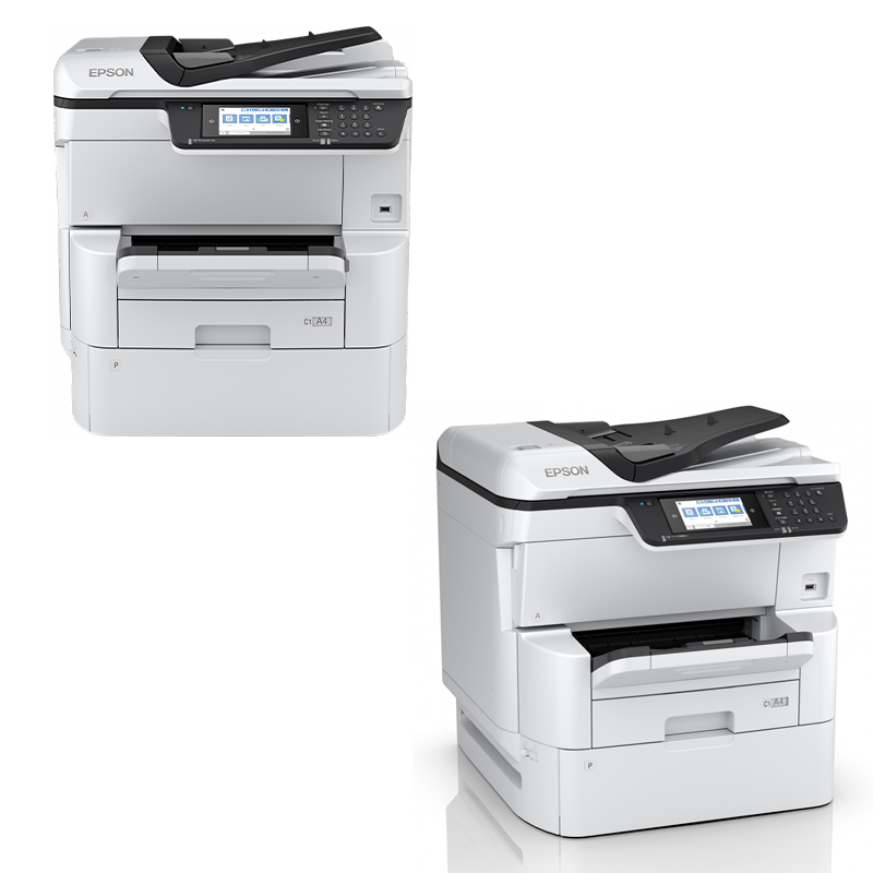 Imagen: Multifuncional de tinta Epson WorkForce Pro WF-C878R , imprime/escanea/copia/fax/WiFi.