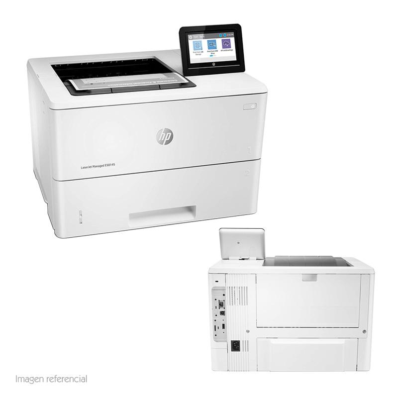 Imagen: Impresora HP LaserJet Managed E50145dn, 43 ppm, 1200x1200 ppp, LAN/USB.