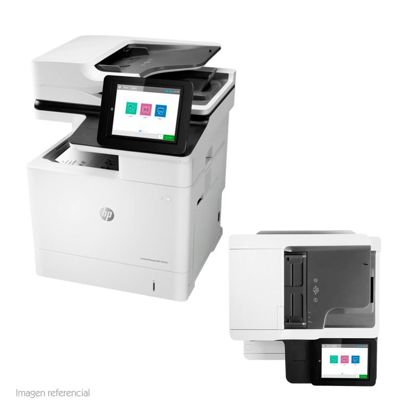 Imagen: Impresora multifunción HP LaserJet Managed E62555, Imprime/Copia/Escáner, USB/LAN.