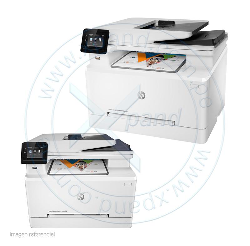 Imagen: Multifunción color HP Color LaserJet Pro M281fdw, imprime/escanea/copia/fax, USB/LAN/Wi-Fi