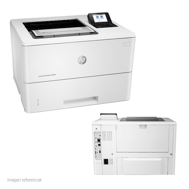 Imagen: Impresora HP LaserJet Enterprise M507dn, 43 ppm,1200x1200 dpi, LAN / USB2.0.