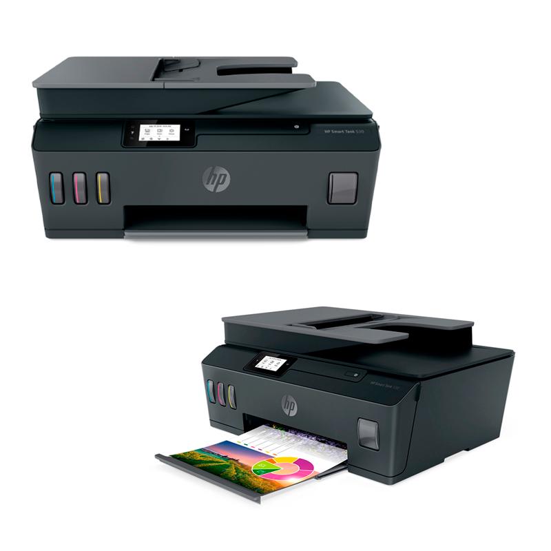 Imagen: Multifuncional de tinta HP Smart Tank 530, Impresión/Escaneo/Copia.
