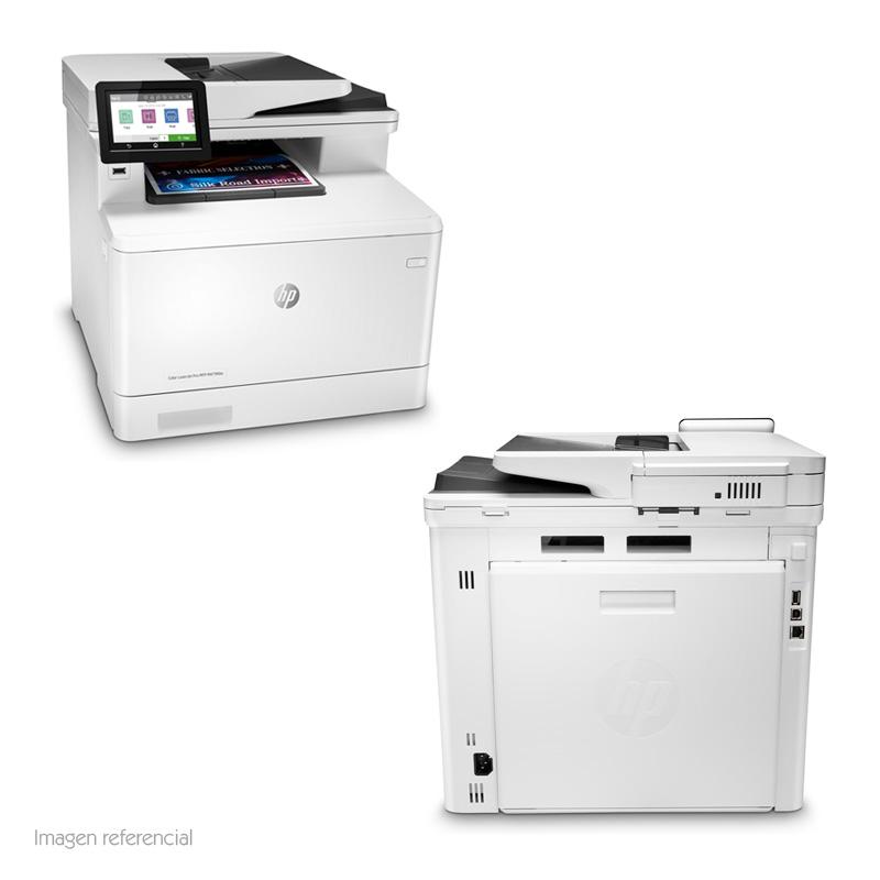 Imagen: Multifunción color HP Color LaserJet Pro M479fdw, imprime/escanea/copia/fax, USB/LAN/Wi-Fi