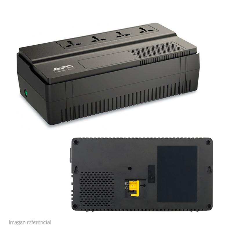 Imagen: UPS APC BV800I-MS, línea interactiva, AVR, 800VA, 450W, 230VAC.