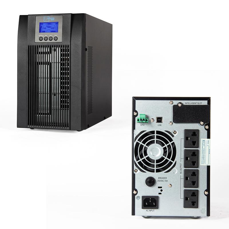 Imagen: UPS Elise UDC-1K-T-G2, On-Line, 1kVA, 900W, 100V ~ 300VAC, Display LCD.