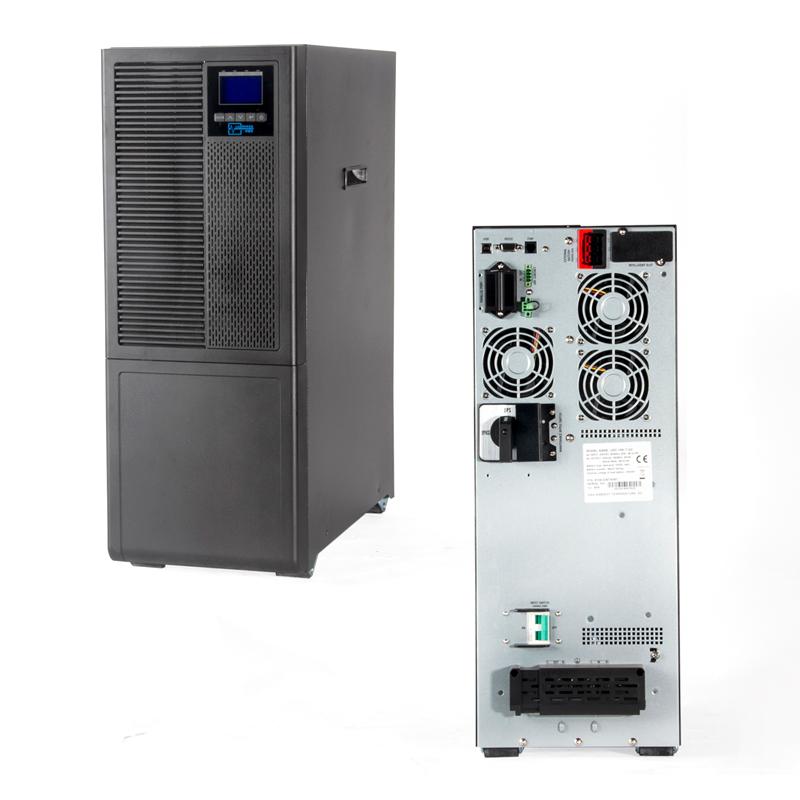 Imagen: UPS Elise UDC-6K-T-G2, On-Line, 6000 VA, 6000 W, 176V~264Vac, USB.