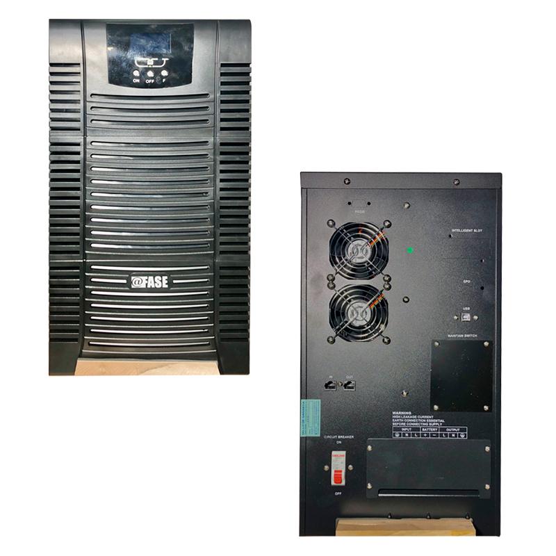 Imagen: UPS Elise Fase Online Serie Zen 10000VA / 9000W / Bornera Entrada - Salida 60Amp / USB.