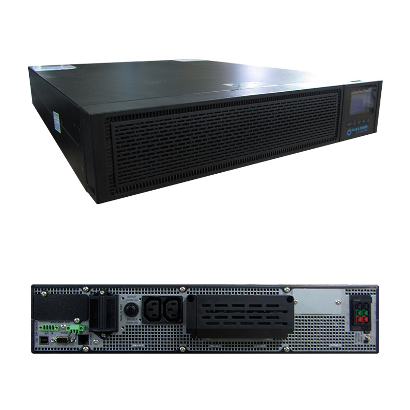 Imagen: UPS Elise Plug & Power URT-6K-G2-UPM, On-Line, 6000VA, 6000W, 220V, DB-9 RS-232/USB.
