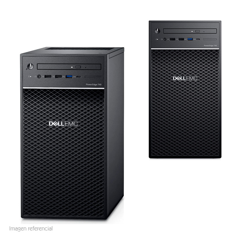 Imagen: Servidor Dell PowerEdge T40, Intel Xeon E-2224G, 3.50 GHz, 8GB DDR4, 1TB SATA