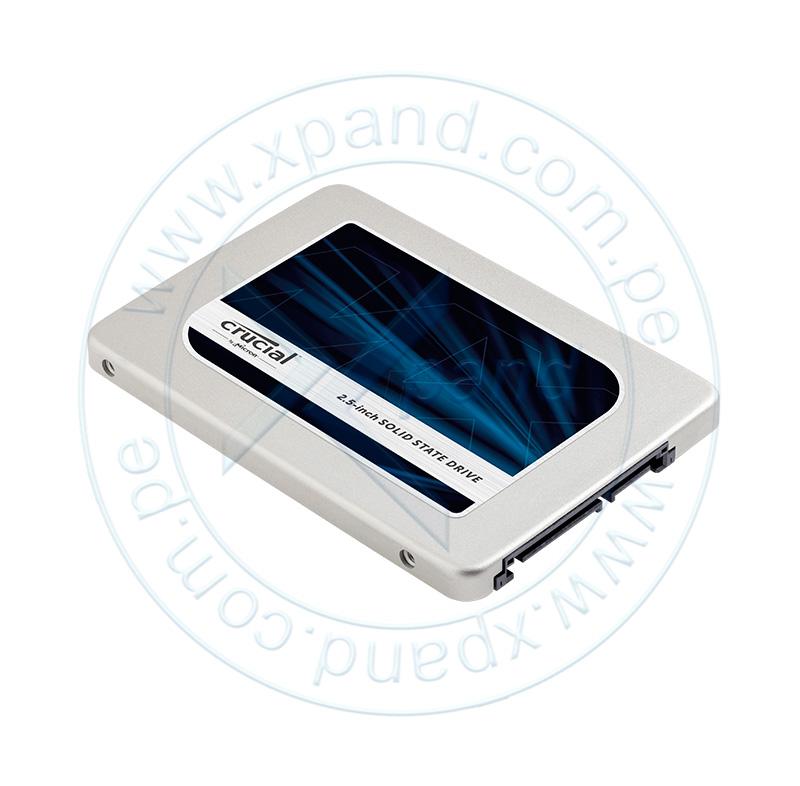 """Imagen: Unidad de Estado Solido Crucial MX300, 2TB, SATA 6Gb/s, 2.5"""", 7mm."""