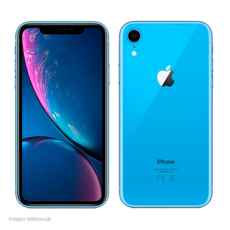 "Imagen: iPhone XR, 6.1"" 1792x828, iOS 12, LTE, DUAL SIM, Wi-Fi, Bluetooth, Desbloqueado."