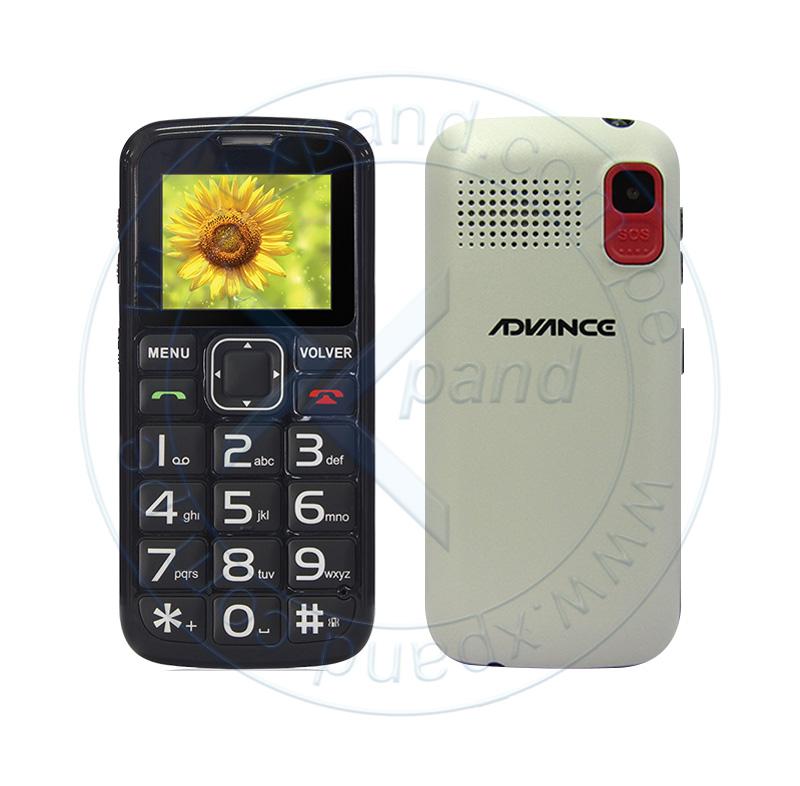 """Imagen: Celular Advance Hollogram HL2246, 1.77"""" QVGA, GSM, Radio FM, Dual SIM, Desbloqueado."""