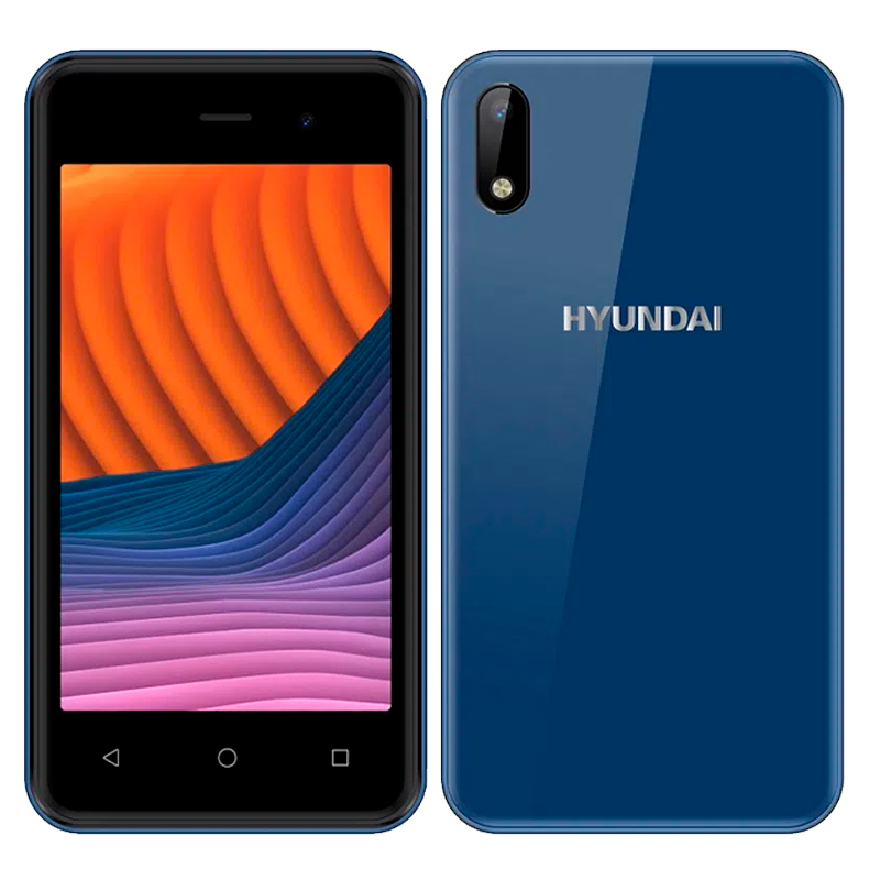 "Imagen: Smartphone Hyundai E475, 4.0"" WVGA TN, Android 9.0, 3G, Dual Sim, Desbloqueado."