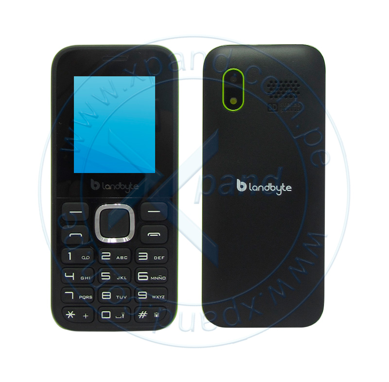 "Imagen: Teléfono celular básico LandByte LT1020, 1.77"", 128x160, Dual SIM, Radio FM, Desbloqueado."
