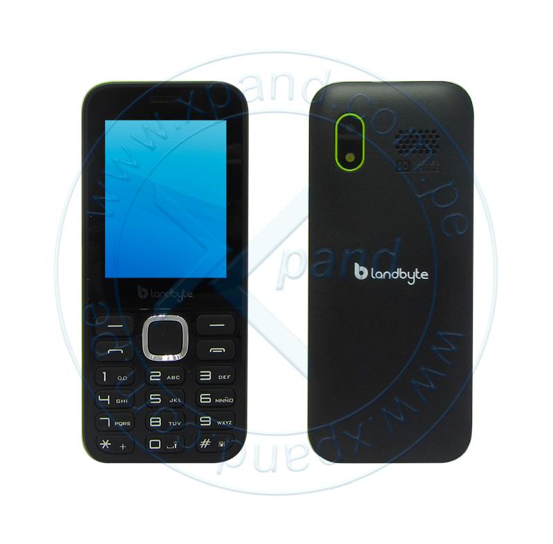 "Imagen: Teléfono celular básico LandByte LT1030, 2.4"" 240x320, Dual SIM, Radio FM, Desbloqueado"