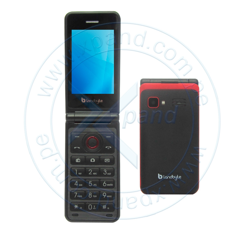 "Imagen: Teléfono Celular básico LandByte LT2030, 2.4"" QVGA, GSM, Radio FM, Dual SIM, Desbloqueado."