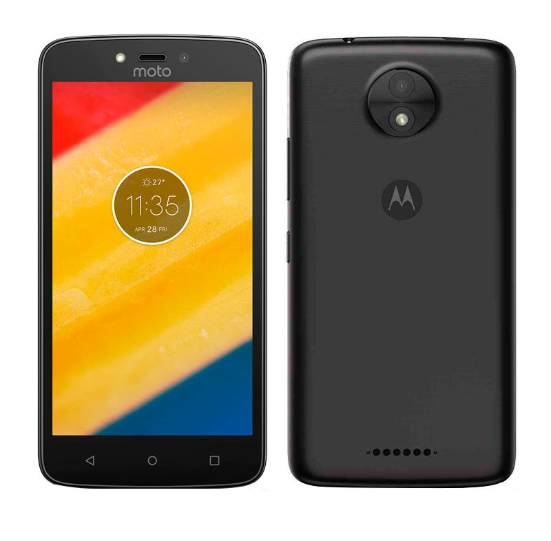 """Imagen: Smartphone Motorola Moto C, 5.0"""" 480x854, Android 7.0, 3G, Dual SIM, Desbloqueado."""