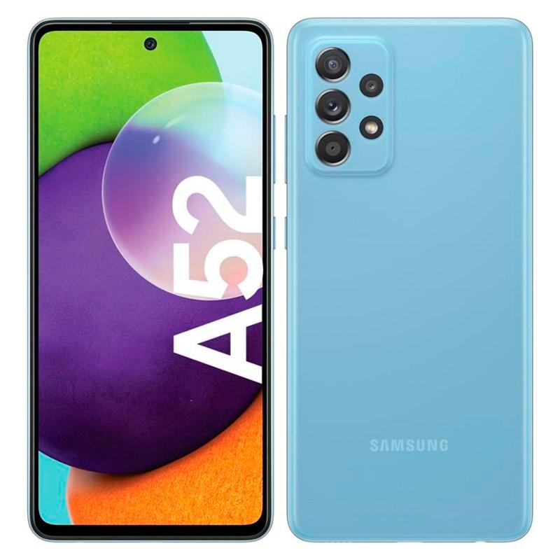 "Imagen: Smartphone Samsung Galaxy A52, 6.5"", 1080x2400, Android 11, LTE, Dual Sim, Desbloqueado"