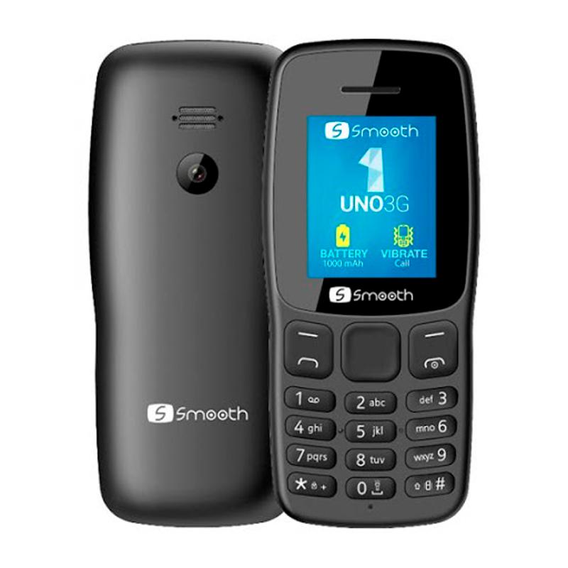 "Imagen: Teléfono Celular Smooth UNO 3G, 1.77"", Dual SIM, FM Radio, Bluetooth, Desbloqueado."
