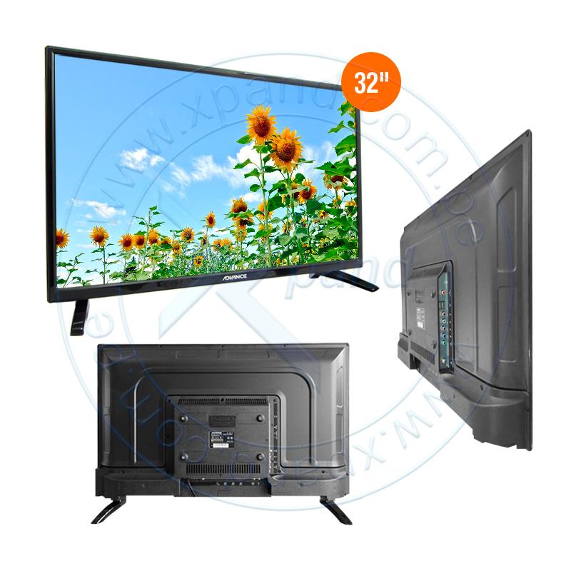 "Imagen: Televisor Advance ADV32N00D, 32"" LED HD, 1366x768, ISDB-T."