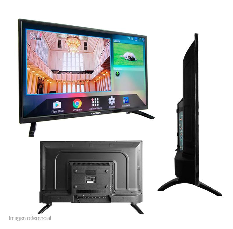 "Imagen: Televisor Smart Advance ADV32S00D, 32"" LED HD, 1366x768, ISDB-T, Wi-Fi, LAN."