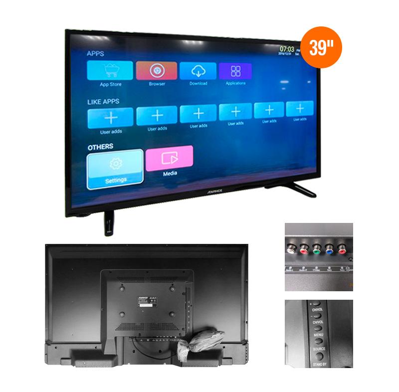 "Imagen: Televisor Smart Advance ADV39N77D, 39"" LED HD, 1366 x 768, Wireless, LAN."