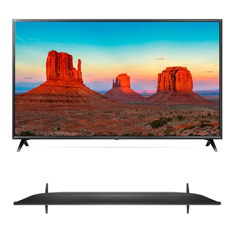 """Imagen: Televisor Smart LG 49UM7100PSA, 49"""" IPS 4K, 3840x2160, HDR, Wi-Fi, LAN."""