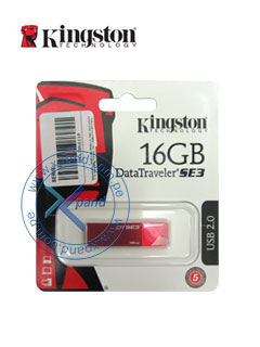 KINGSTON 16GB DTSE3 RED