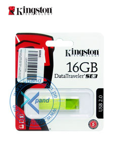 KINGSTON 16GB DTSE3 GREEN
