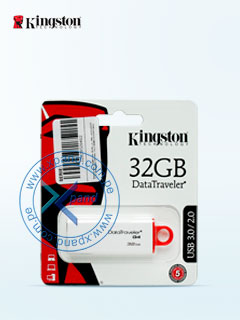 KIN USB DTIG4/32GB WHTE/RED