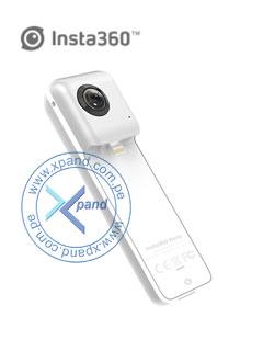 C¿mara Insta360 Nano, 3040x1520 @ 30fps, lente de 360¿, conector Lightning.