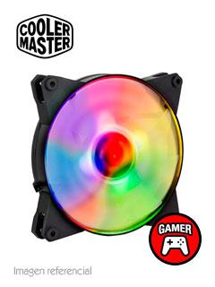 Fan CoolMaster MasterFan Pro 140 Air Flow RGB, 14 cm, 12VDC, 4 pines.