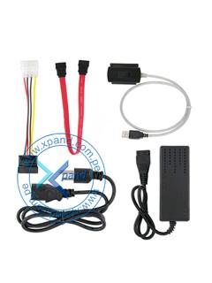 CONVERTIDOR SATA/IDE A USB 2.0