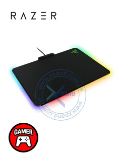 Mouse Pad Gaming Razer FireFly Hard Edition, Negro, Iluminación RGB, 4 mm, USB.