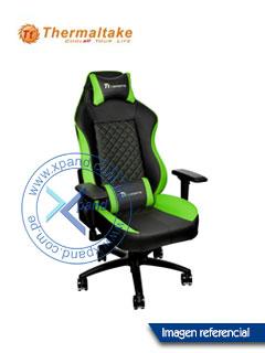 Silla gaming TteSPORTS GT Comfort, Reclinable, Aerodinámica, Reposabrazo, Base de aluminio