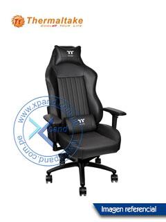 Silla gaming TteSPORTS X Comfort, Reclinable, Aerodinámica, Reposabrazo, Base de aluminio