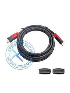 Cable HDMI de alta velocidad con Ethernet, compatible con 3D y audio Return Channel, 3 mts