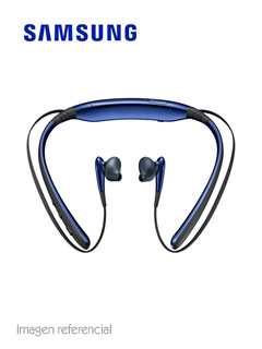 Auriculares Bluetooth Samsung Level U, microfono, microUSB, Azul Arctic, batería integrada