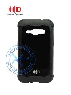Funda protectora Intense Devices ID-AROLJ1BK, para Samsung Galaxy J1, Negro.